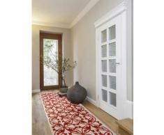 Benuta Alfombra de pasillo Kaleido Naranja 80x240 cm