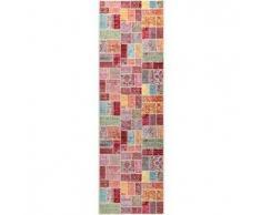 Benuta Alfombra de pasillo Visconti Multicolor 70x240 cm