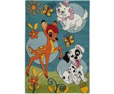 Disney Alfombra niños Bambi Azul 140x200 cm