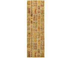 Benuta Alfombra de pasillo Casa Amarillo 70x240 cm