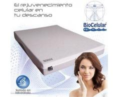 Colchon Viscoelastica Biocelular Celliant Ingravity + Almohada Viscogel De Regalo