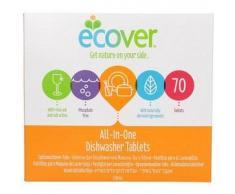 ECOVER Pastillas biodegradables para lavavajillas All-In-One (70u.)