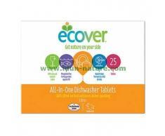 ECOVER Pastillas biodegradables para lavavajillas All-In-One (25u.)