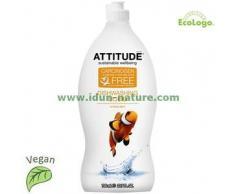 Attitude Lavavajillas biodegradable concentrado Citrus Zest ATTITUDE
