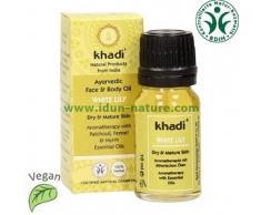 khadi Aceite facial y corporal ayurvédico de Lirio Blanco para piel seca y madura KHADI (10ml.)