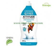 Attitude Lavavajillas biodegradable concentrado Wildflowers ATTITUDE