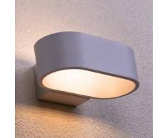 LED Rettangolo Aluminio Aplique 17 cm - Dro