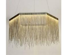 Lámpara de techo LED con guirnalda de aluminio - Rain