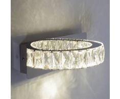 Aplique de cristal - LED medio círculo - Kuna