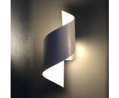 Aplique de pared LED retorcido - Typhoon blanco