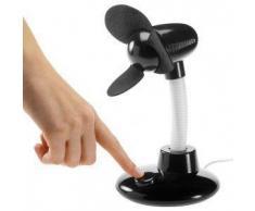 Subtel Ventilador USB, cuello giratoria, para PC y aire libre