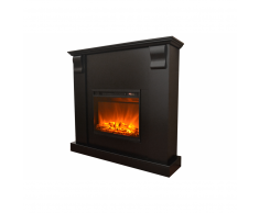 Chimenea électrica KAMIN ROYAL negra