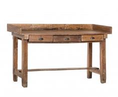 Escritorio antiguo de madera
