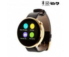 Tekkiwear by dam. Reloj digital con bluetooth DM360 dorado
