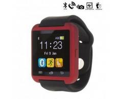 Tekkiwear by dam. Reloj digital con bluetooth U80 rojo