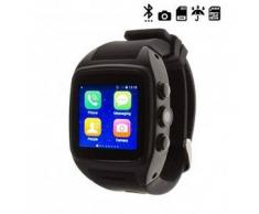 Tekkiwear by dam. Reloj digital waterproof con bluetooth Q242 negro