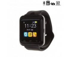 Tekkiwear by dam. Reloj digital con bluetooth U80 negro