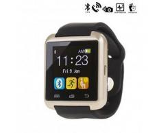 Tekkiwear by dam. Reloj digital con bluetooth U80 dorado