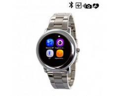 Tekkiwear by dam. Reloj digital con bluetooth SW L2 plateado