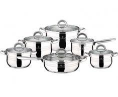 Blaumann Batería de cocina Jumbo Gourmet Line 12 piezas