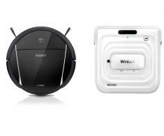 Ecovacs Pack Robot Limpiacristales Winbot W730 + Robot Aspirador Deebot DM85
