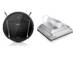 Ecovacs Pack Robot Limpiacristales Winbot W830 + Robot Aspirador Deebot DM85