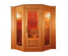 Sauna tradicional finlandesa GOTEBORG II - 4 plazas - Gama Prestige