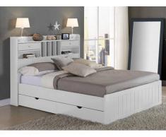 Cama con cajones compra barato camas con cajones online - Base cama almacenaje ...