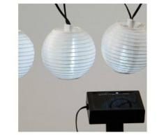 eminza Guirnalda Solar LED Farolillos - Blanco cálido