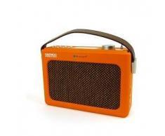 Daewoo Radio reloj despertador retro Daewoo DRP-131 bluetooth FM/AM SD, USB
