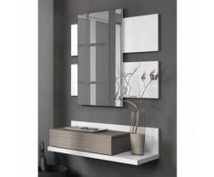 Mueble de recibidor Tekkan - Color - Blanco Fresno