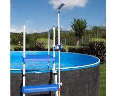 Piscinas Gre Ducha fijación a escalera piscina desmontable Gre DPE10