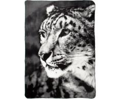 B@Home Biederlack Fairbanks - Manta (1,3 x 1,8 m), diseño de leopardo