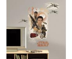 RoomMates Pegatinas de Pared Star Wars Episodio VII