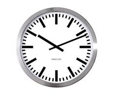Karlsson Zegar - Reloj analógico de pared acero