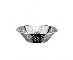 Alessi 5021/20 - Fuente redonda perforada (acero inoxidable)