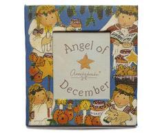 Gnomys Diaries Angel De Diciembre Marco de Fotos con Iman, Cartón,, 6x0.2x8 cm