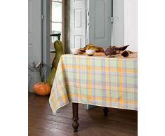 Atenas Home Textile Pic-Nic - Mantel antimanchas, 100 x 160 cm, color verde