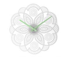 Karlsson Lace - Reloj de pared, color blanco