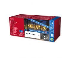 Konstsmide 4600-003 - Sistema de iluminación led (cable de conexión de 24 V, transformador exterior y cable de alimentación)