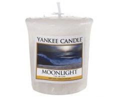 Yankee Candle 1507666E - 49 g Luz de Luna Vela Votiva, Cera, Color Gris, 4.6x4.5x5 cm