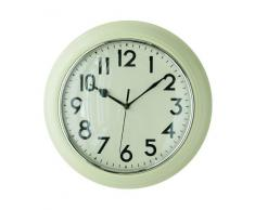 Premier Housewares - Reloj de pared para cocina, color crema