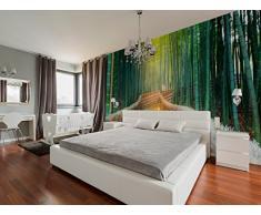 Fotomural Vinilo Pared Zen Bosque Bambú | Fotomurales | Fotomural Pared | Fotomural Decorativo | Vinilo Decorativo | Varias Medidas 150 x 100 cm | Decoración de comedores, Salones | Diseño Elegante