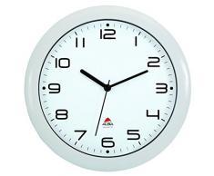 Amanecer, mecanismo del reloj de pared con silencio, White (Weiss)