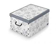 Domopak - Caja de almacenaje con Asas