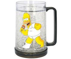Los Simpson Taza Freezer