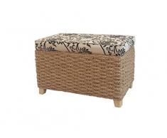 büloo Asiento de retención de y taburete, color natural también como – Taburete de baño/ropa sucia/Soporte Banco/Asiento banco (50 * 30 * 30)