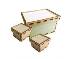 Petra s Manualidades (News a de bm2234s3 conjuntos de diseño para madera Baúles, 2 Varios