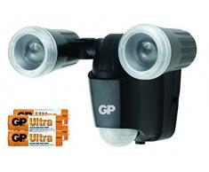 GP Lighting 060659-LAB1 Outdoor wall lighting Negro LED - Iluminación al aire libre (Outdoor wall lighting, Negro, IP55, Cochera, LED, Blanco)