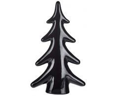 Comarco Sa 11754 - Árbol de Navidad Artificial, cerámica, Negro, 9 x 4 x 26 cm